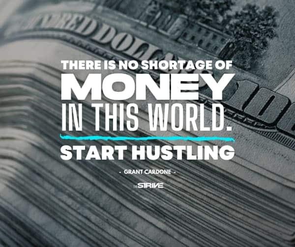 No Shortage of Money Quote