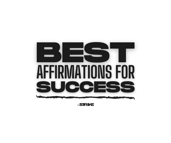 Best Affirmations for Success