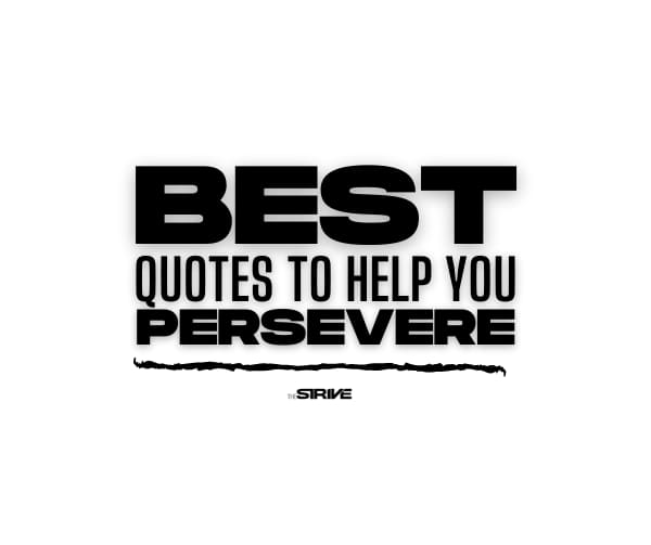Best Perseverance  Quotes