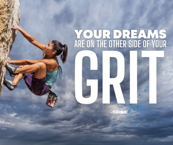 Motivation Quote on Grit