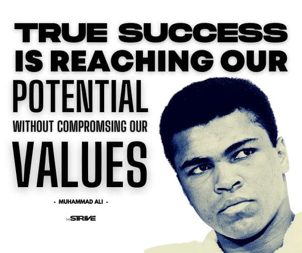 Muhamed Ali Quote about True Success