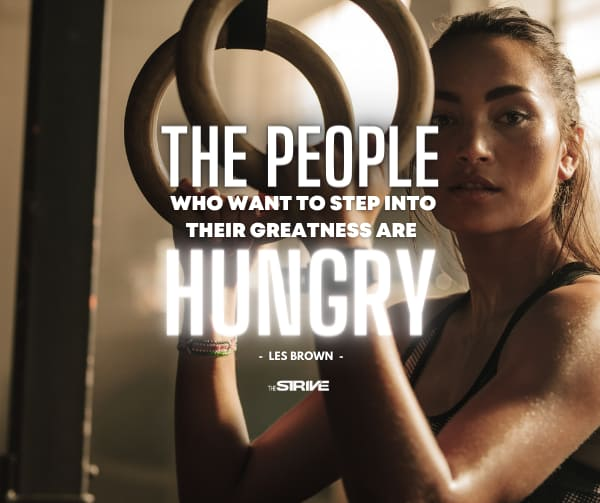 Quote on Being Hungry for Success