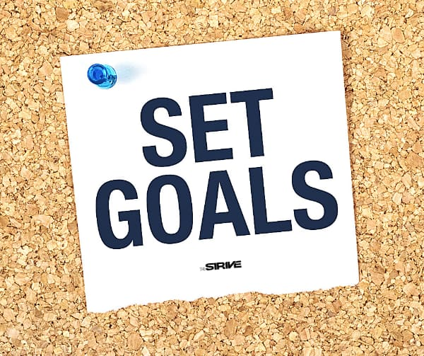 Set Goals for Productive Day at Work
