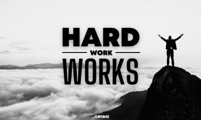 If you work hard you will succeed