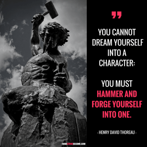 Hammer and Forge Your Destiny